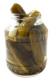 Pickle jar Stock Image