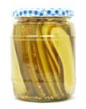 Pickle jar Stock Photo