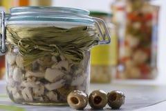 Pickle Jar Royalty Free Stock Image