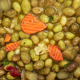 Pickle olives closeup Royalty Free Stock Photos