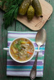 Pickle - Russian soup Royalty Free Stock Photography