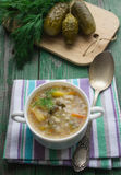 Pickle - Russian soup Stock Photography