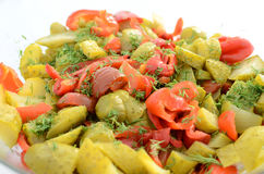 Pickle salad Royalty Free Stock Photography