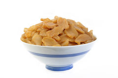 Pickle turnip in bowl Royalty Free Stock Photos