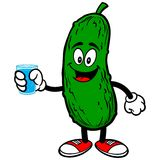 Pickle with Water Royalty Free Stock Photos
