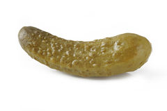 Pickle on white background Stock Images