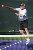 Pickleball Action - Smash Hit Stock Images