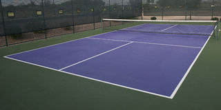 Pickleball Court Royalty Free Stock Photography