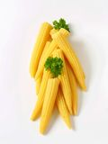 Pickled baby corn Stock Photography