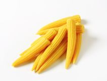 Pickled baby corn Royalty Free Stock Image