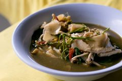 Thai traditional or Thai food stock images