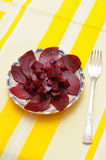 Pickled beet roots Royalty Free Stock Photo