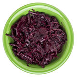 Pickled beets, dulse and kale Stock Photography