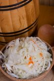Pickled cabbage homemade Royalty Free Stock Image