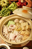 Pickled cabbage and meat hot pot   Royalty Free Stock Photography