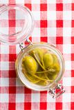 Pickled caper berries. Stock Photography