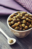 Pickled capers Royalty Free Stock Photography