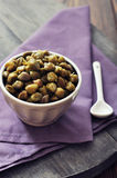 Pickled capers Royalty Free Stock Images
