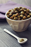 Pickled capers Stock Photos