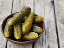 Pickled cucumber Stock Photo