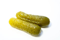 Pickled cucumber Stock Images