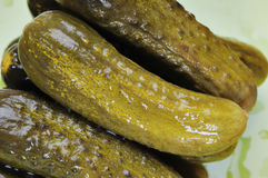 Pickled cucumbers. Royalty Free Stock Photos