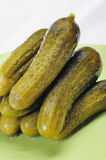 Pickled cucumbers. Stock Images