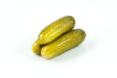 Pickled cucumbers. Royalty Free Stock Images