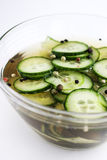 Pickled cucumbers Stock Photos