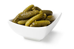 Pickled cucumbers Royalty Free Stock Photography