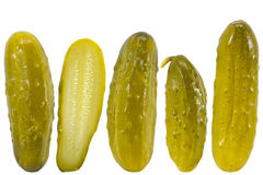 Pickled dill cucumbers Royalty Free Stock Photo