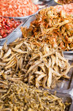 Fried dry meat Stock Photography