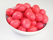 Pickled Eggs Royalty Free Stock Photography