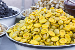 Pickled fruits ,preserve Fruit in the local market of Thailand Royalty Free Stock Photo