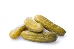 Pickled gherkins Royalty Free Stock Photo