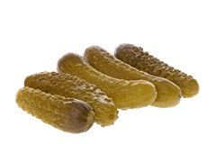 Pickled Gherkins Stock Photography