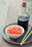 Pickled ginger Stock Images