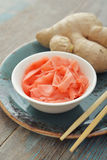 Pickled ginger Stock Photo