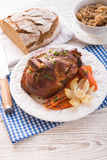 Pickled ham hock Royalty Free Stock Photography