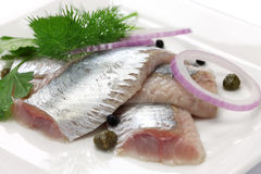 Free Pickled Herring Royalty Free Stock Images - 38189619