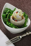 Pickled Herring salad Stock Images