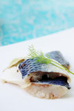 Pickled herring, spicy snack Royalty Free Stock Image