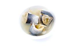 Pickled herrings Royalty Free Stock Photo
