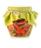 Pickled hot pepper Royalty Free Stock Photos