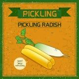Pickled Korean radish Royalty Free Stock Photography