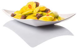 Pickled Mango And Tamarind II Stock Photos