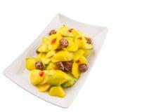 Pickled Mango And Tamarind IV Royalty Free Stock Photo