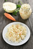 Pickled marinated cabbage Royalty Free Stock Photo