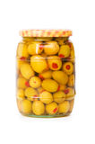 Pickled olives Royalty Free Stock Photos