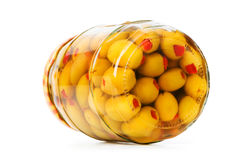 Pickled olives Stock Photo